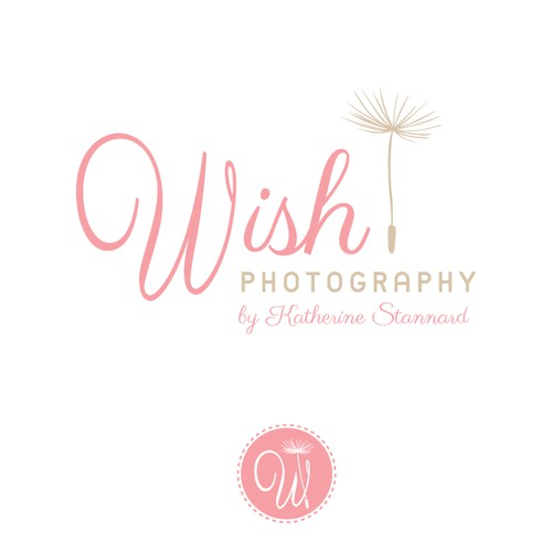 Create a stylish logo for Wish Photography by Katherine Stannard