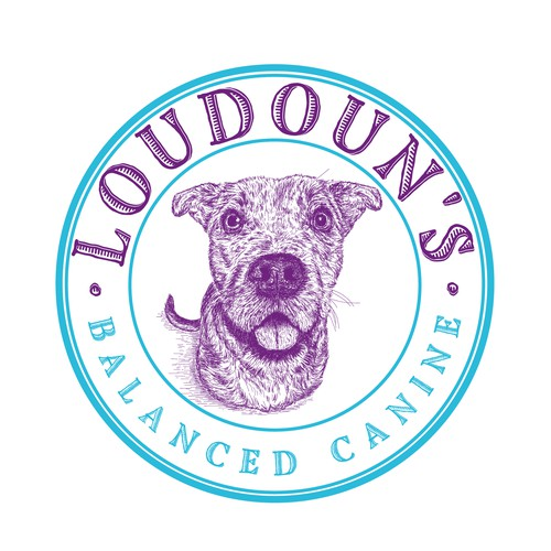 Logo for Loudoun's Balanced Canine