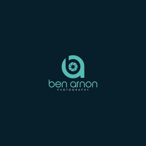 Bold Logo concept for Ben Arnon Photography