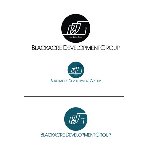 Create a capturing logo and brand identity for Real Estate Development Company