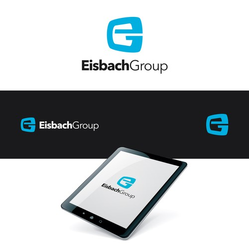 Eisbach Group logo design entry