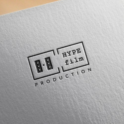 Minimal Logo design for film production house
