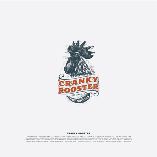Cranky Rooster - logo
