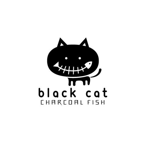 Black Cat Charcoal Fish