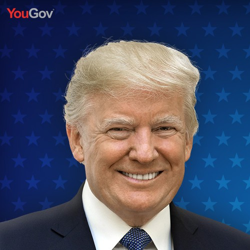 Facebook Ad featuring political figures