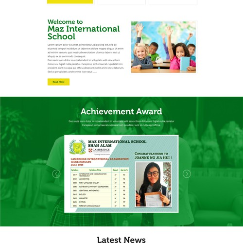 MAZ International School
