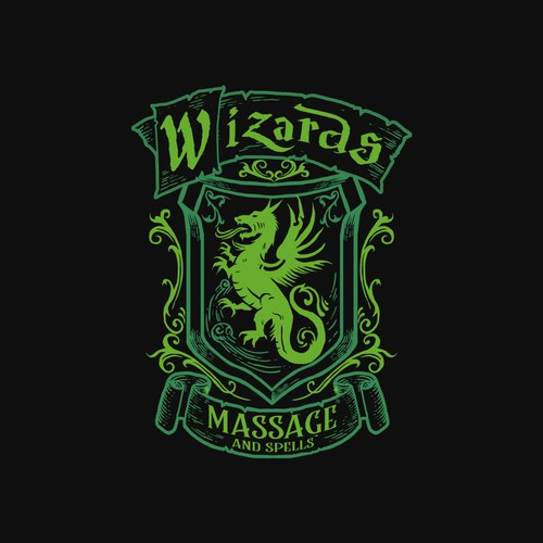 Wizzard massages logo