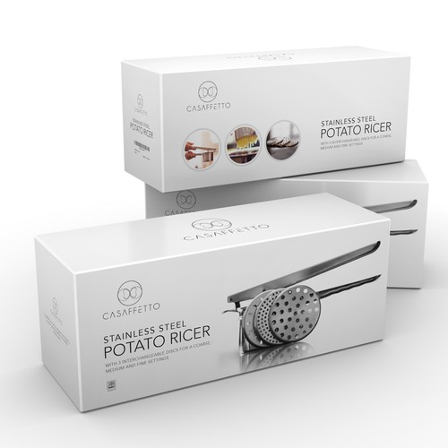 clean and simple box design for Casaffetto