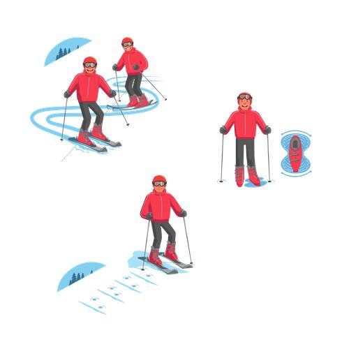 Ski sport.