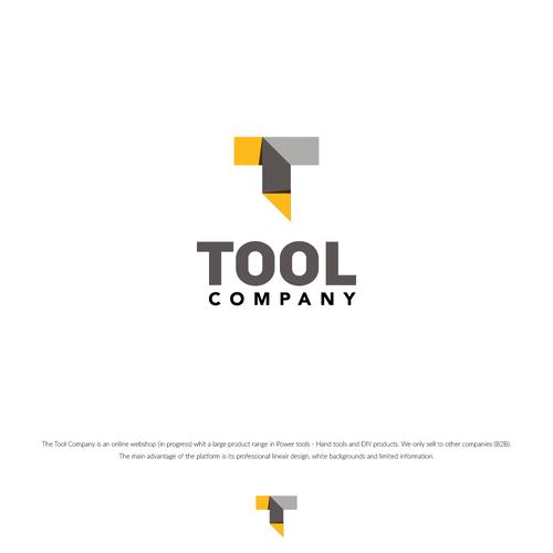 Logo concept for a tool company