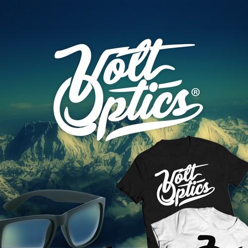 volt optics logo concept