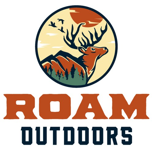 Roam Outdoors logo