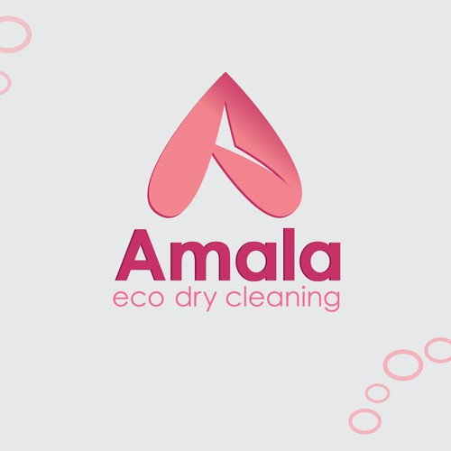 Logo for a revolutionary, eco-friendly dry-cleaning service