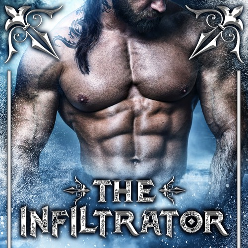 Book cover design - The Infiltrator by K. A. Raines