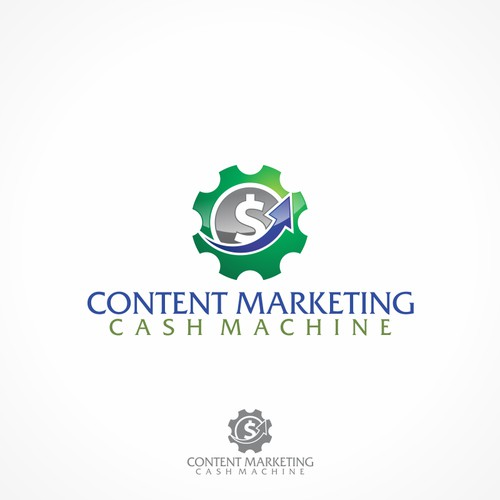 logo for Content Marketing Cash Machine