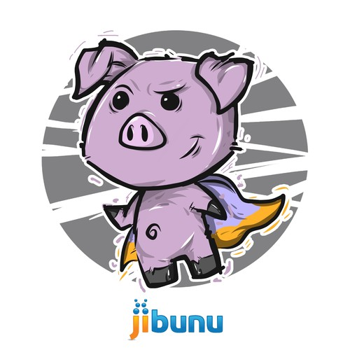 Mascot for Pig