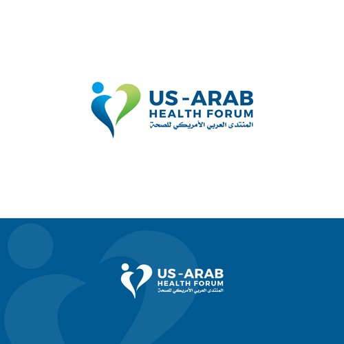 US - ARAB HEALTH FORUM LOGO