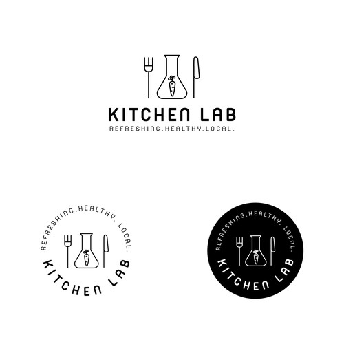 Branding concept for Kitchen Lab