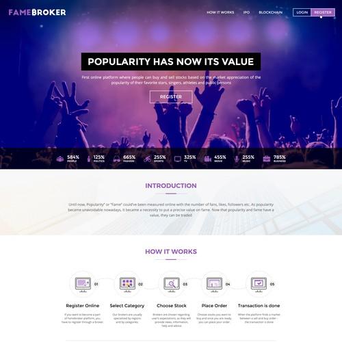 Amazing Landing Page Design