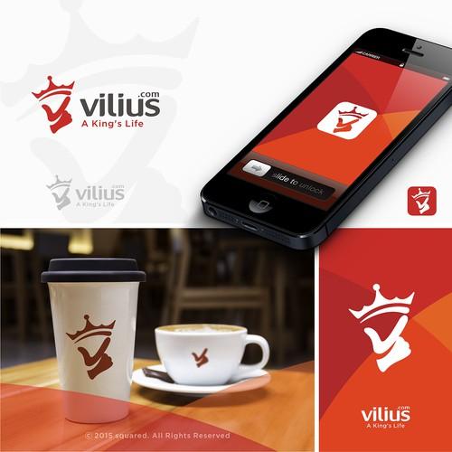 Vilius Logo Design