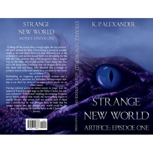 "Fantasy Novel ""Artifice: Episode One"" needs a new cover design!"