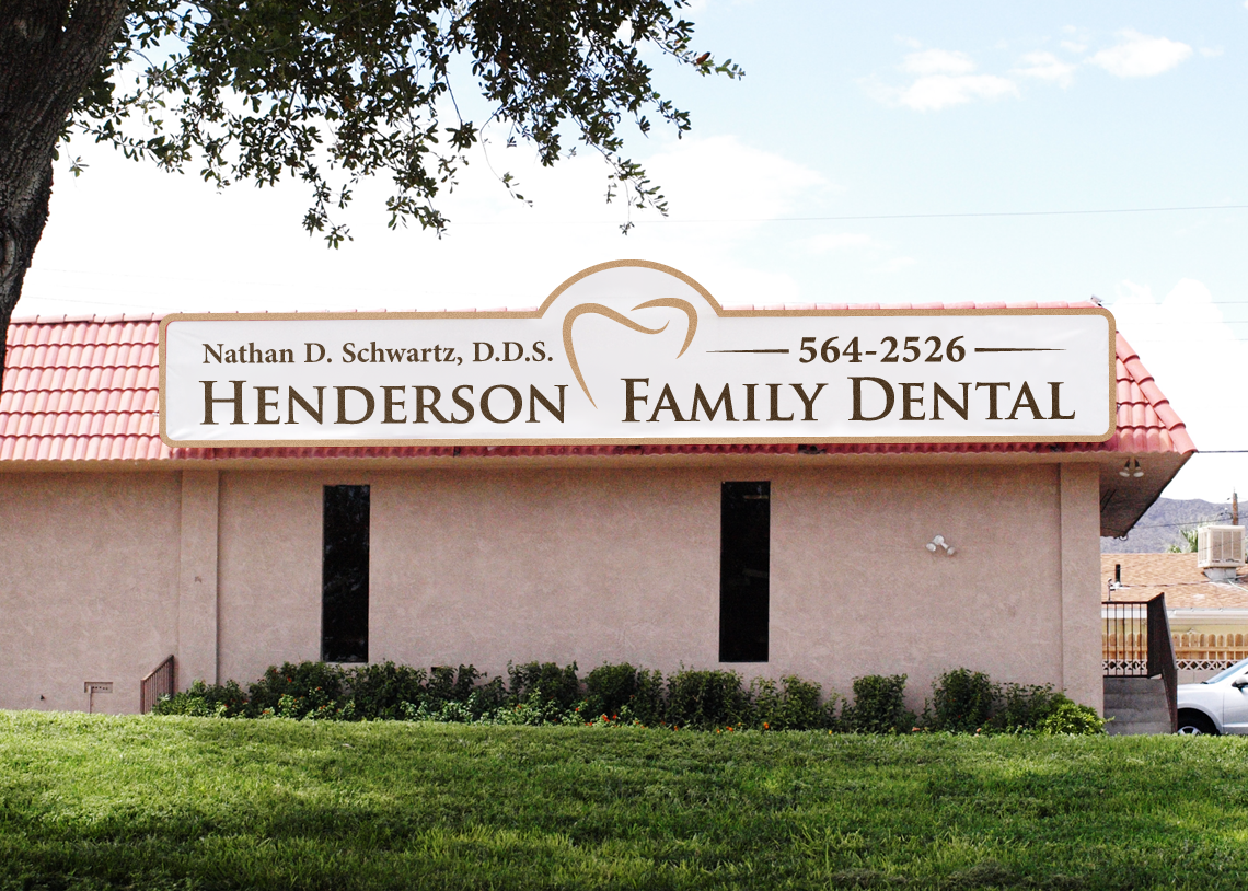 signage for Henderson Family Dental