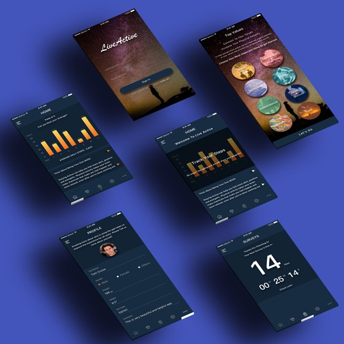 Fitness app which motivates you