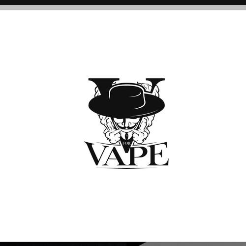 Luxurious VforVape Logo