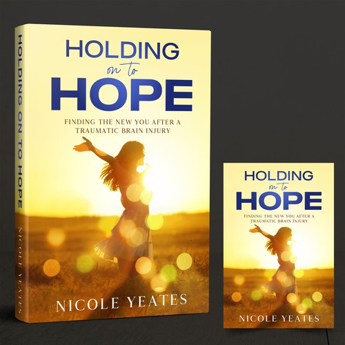 Hold on to Hope Book Cover concept
