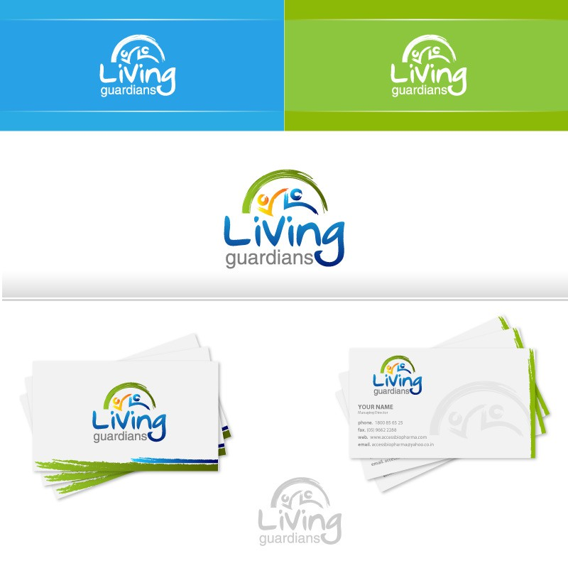Create the next logo for living guardians