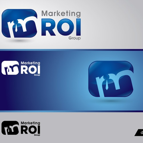 Marketing ROI Group needs a new logo