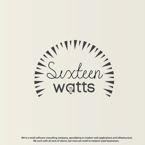 Logo for sixteen watts