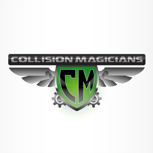 Create the next logo for Collision Magicians