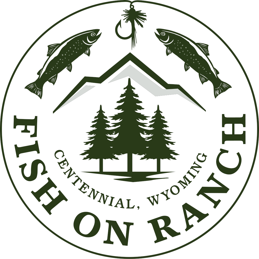 Fish On Ranch Primary Logo