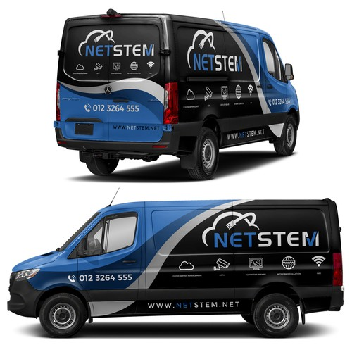 Netstem Mercedes Sprinter Full Wrap