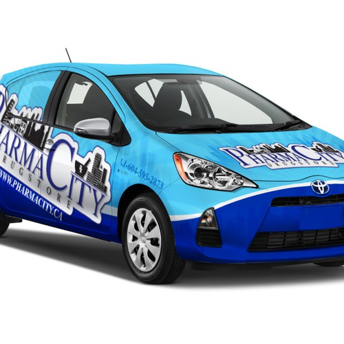 Car Wraps for Pharmacity