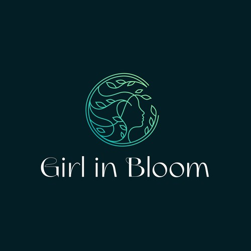 Girl in Bloom