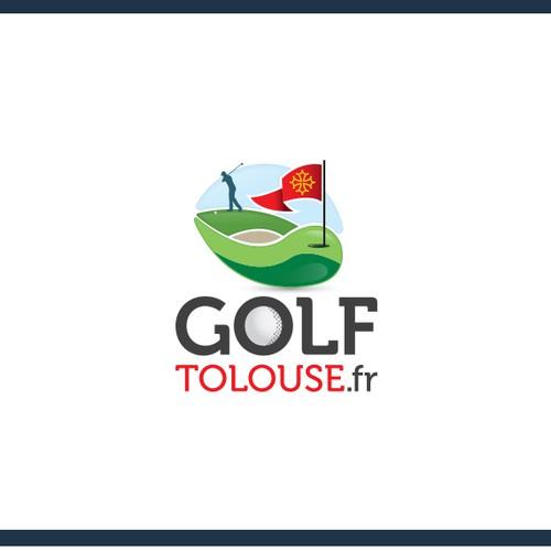 Logo concept for golf training