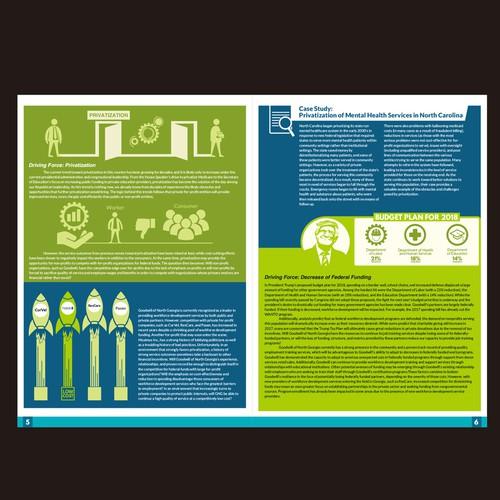 Report Design - Four Futures For The 21st Century Non-Profit