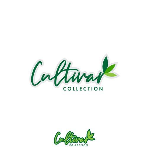 Cultivar Collection logo concept