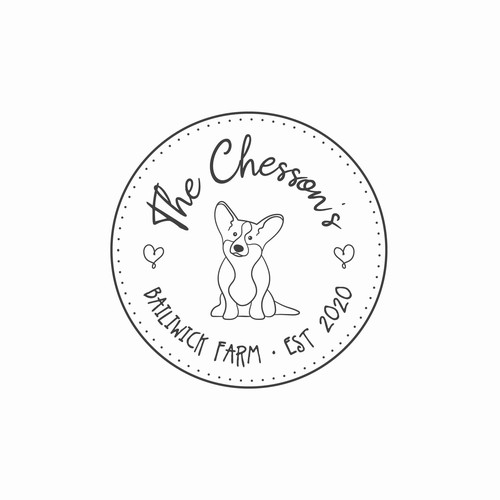 Logo design for a wedding