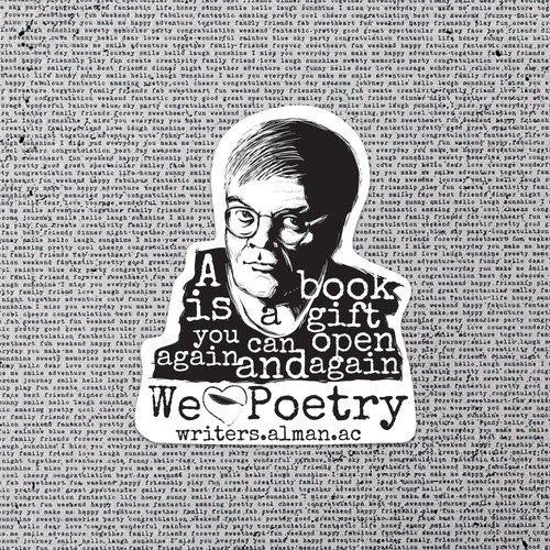 Sticker for Garrison Keillor