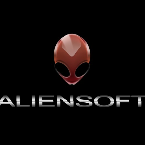 CUSTOM ALIEN HEAD LOGO