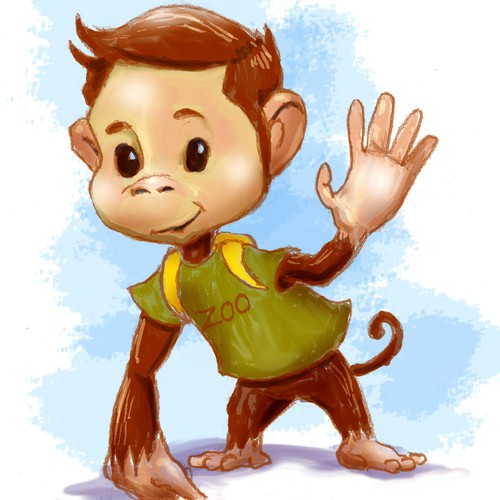 Monkey Character Concept