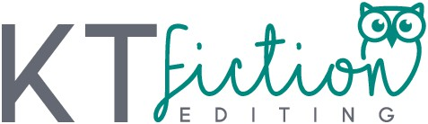 Whimsical logo for friendly fiction editor