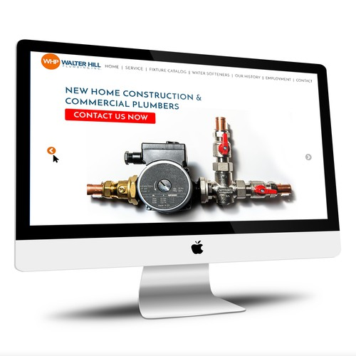 Commercial Plumber web page