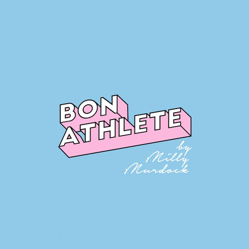 Cute logo for a professional athlete