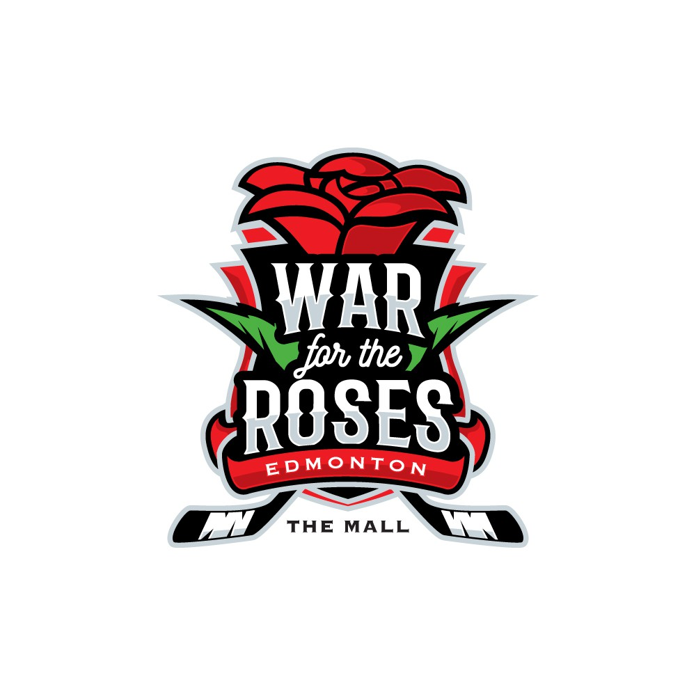 help us design a COOL logo for our girls hockey tournament (War for the Roses)