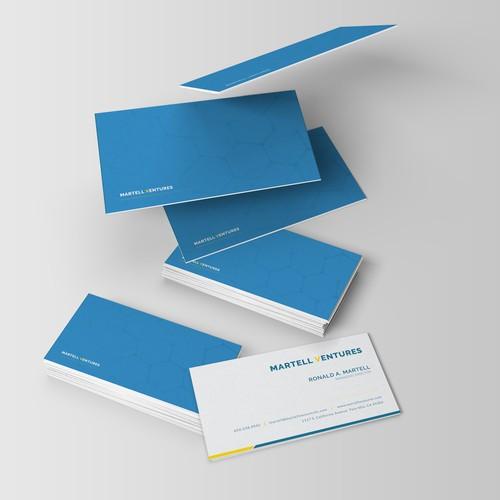 MARTELL VENTURES - Bussines Card