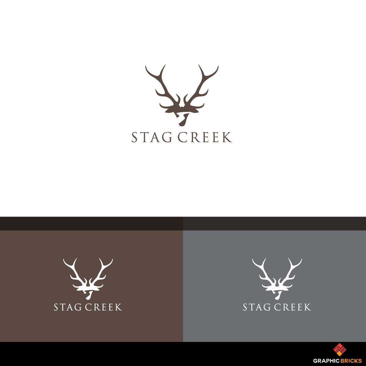 Design A Premium Logo for Stag Creek, A Luxury Men's Gift Brand